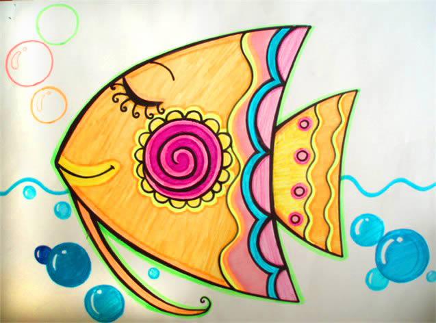 暑期第二班儿童画基础素描开班
