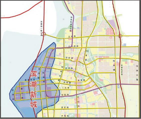 滨湖新城规划展新图